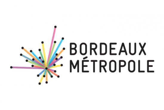 Le logo de Bordeaux Métropole (horizontal)